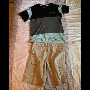 Boys zoo York shorts and shirt